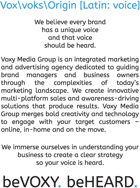 Vox voks   Origin [Latin: voice]